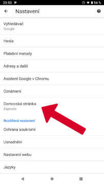 google-zmena-domovske-stranky-nastaveni-chrome