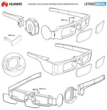 huawehuawei ar glasses patenti ar glasses patent