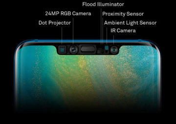 Huawei Mate 20 Pro 3D Face Unlock