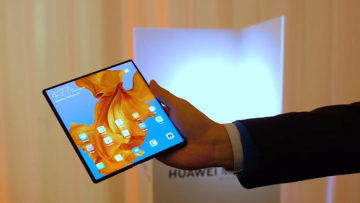 Huawei Mate X displej