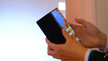 Huawei Mate X ohnuty