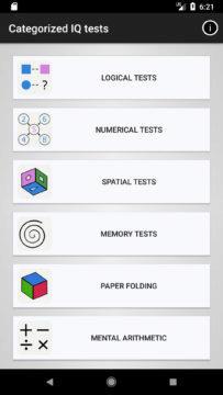 iq test nabidka testovani