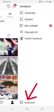 jak deaktivovat facebook ucet z instagramu