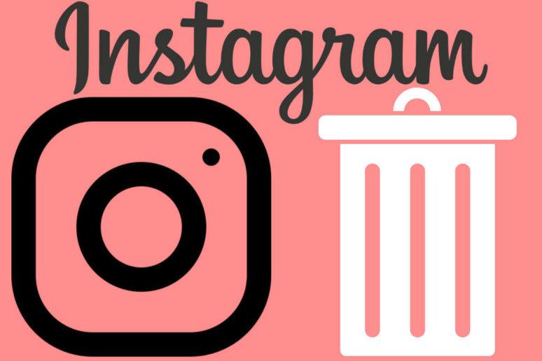 jak smazat instagram