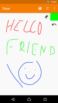 jednoducha aplikace pro android kresleni