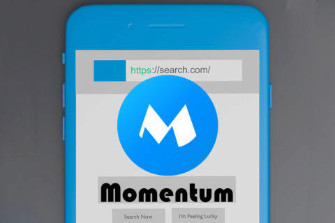 momentum browser prohlizec android windows 10