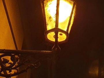 nocni fotografie samsung galaxy s10 lampa detail
