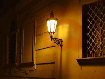 noční ulice praha fotografie telefon samsung galaxy s10 zoom