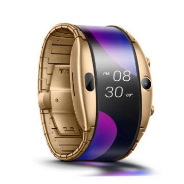 Nubia Alpha chytre hodinky telefon