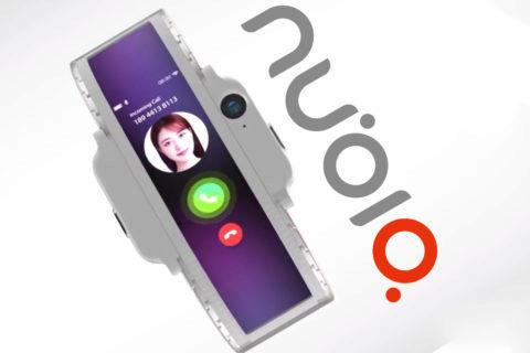 nubia ohebny telefon mwc 2019