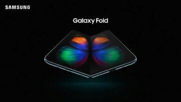 Ohebny telefon Samsung Galaxy Fold