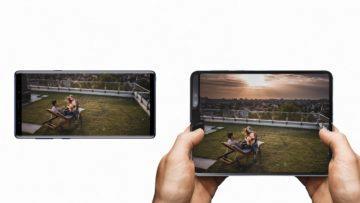 Ohebny telefon Samsung Galaxy Fold displeje