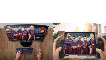 Ohebny telefon Samsung Galaxy Fold hrani her samsung dex