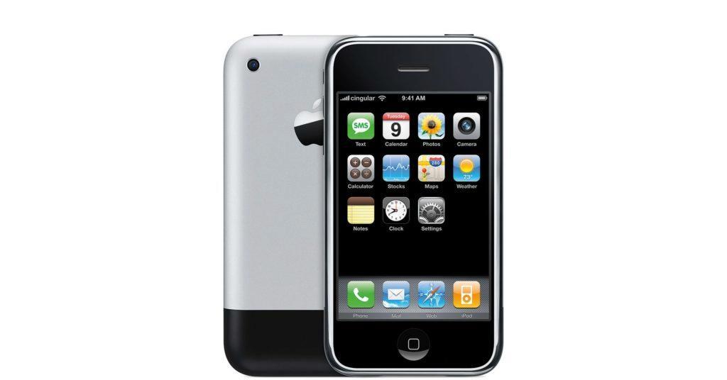 První iPhone z roku 2007