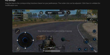 pubg mobile mapovani tlacitek xiaomi black shark