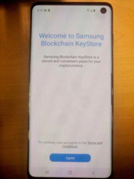 Samsung-Blockchain-kryptomeny