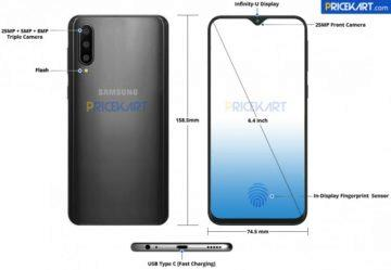 samsung galaxy a50 design
