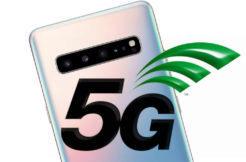 5G připojení samsung galaxy s10 5g
