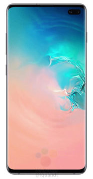 Samsung Galaxy S10 displej