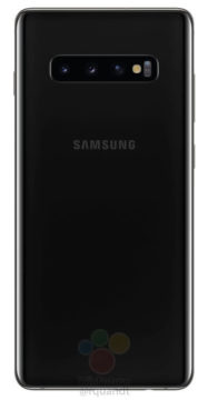 Samsung Galaxy S10 fotoaparat