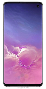 Samsung Galaxy S10 otvor v displeji