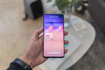 samsung galaxy s10 plus displej