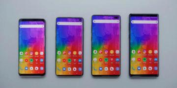 Samsung galaxy S10 predni strana