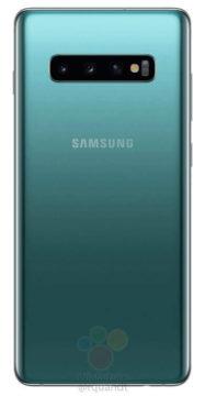 Samsung Galaxy S10 zadni strana
