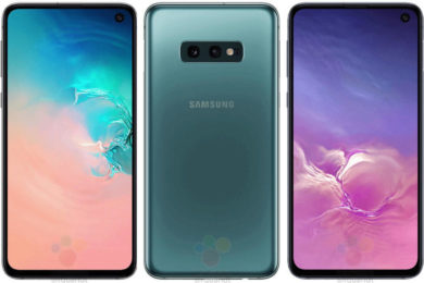 samsung galaxy s10e design