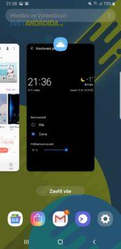 Samsung One UI posledni aplikace