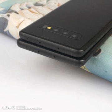 Samsung S10 vrchni strana slot na microsd nanosim