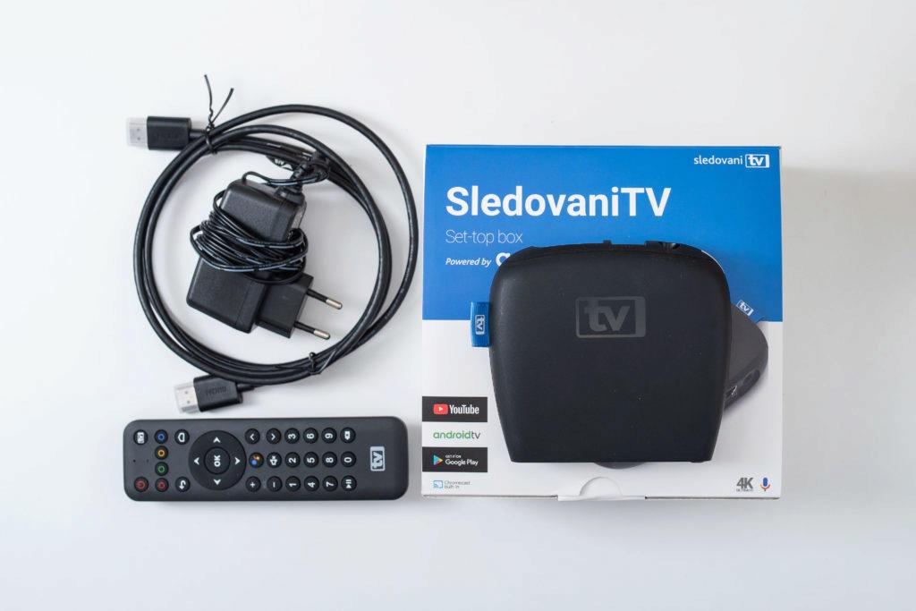 set-top box SledovaniTV obsah baleni