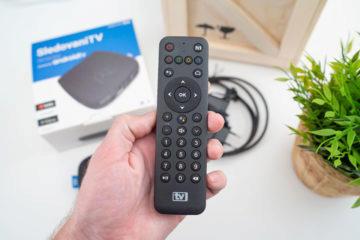 set-top box SledovaniTV ovladac