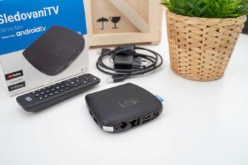 set-top box SledovaniTV zadni strana