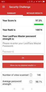 Správce hesel Lastpass app security bezpečnost