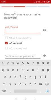 Správce hesel Lastpass app