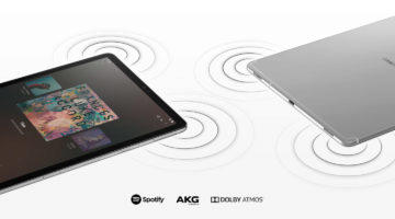 tablet Samsung Galaxy Tab S5e audio akg