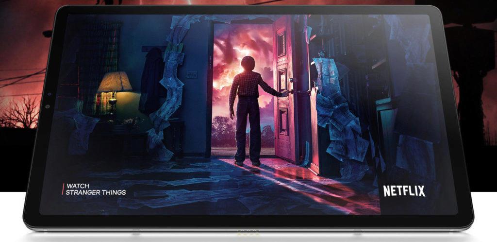 tablet Samsung Galaxy Tab S5e displej sledovani filmu