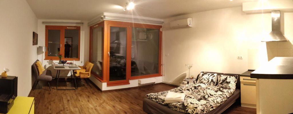 Takto jsme například přes Airbnb bydleli v Praze