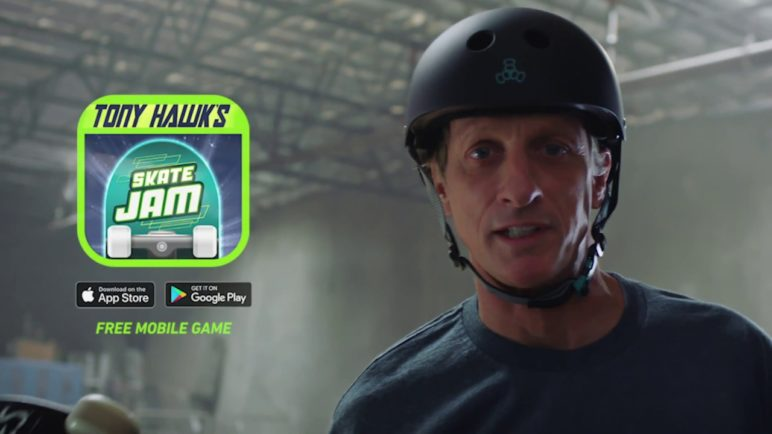 Tony Hawk's Skate Jam (Official Game Trailer) - Tony Hawk Returns to Gaming