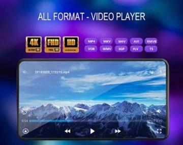 Video player all format aplikace