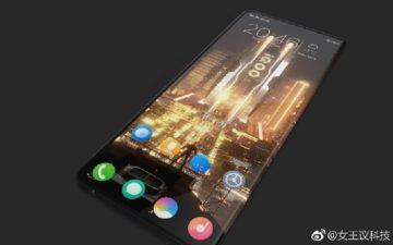 vivo iqoo ohebny telefon design