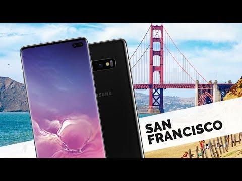 Vlog z USA den první. Pohled do zákulisí Samsung Galaxy S10 - cesta a NHL zápas