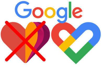 web google fit konec