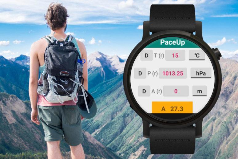 xiaomi amazfit paceup vyskomer smartwatch