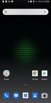Xiaomi Black Shark Android system JoyUI domovska stranka
