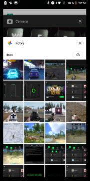Xiaomi Black Shark Android system JoyUI posledni aplikace