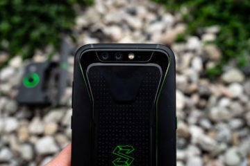 Xiaomi Black Shark design zadni strana