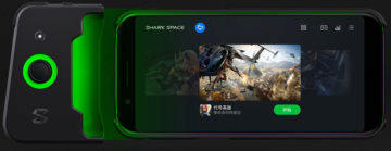 xiaomi black shark pripojeni gamepadu
