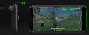 xiaomi gamepad black shark tlacitka